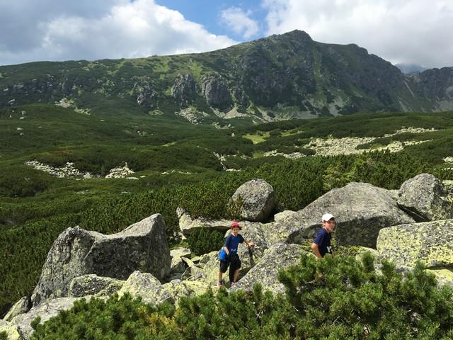מסלול בהרי הטטרה הגבוהים סלובקיה