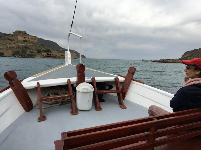 שייט בספינה מזרח כרתים