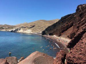 red beach santorini החוף האדום