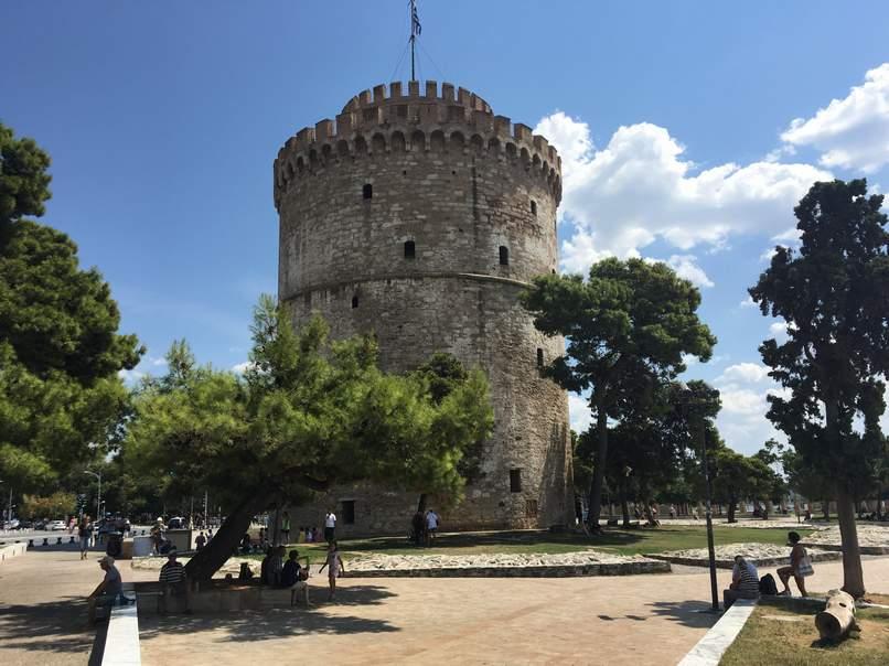 סלוניקי המגדל הלבן