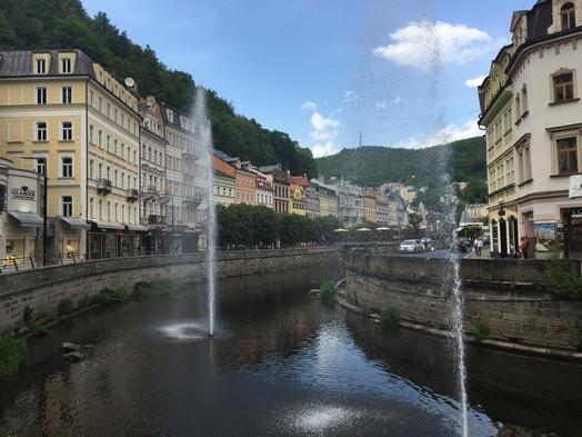 Karlovy Vary main street