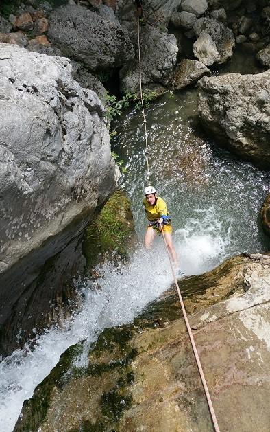 canyoning papigo